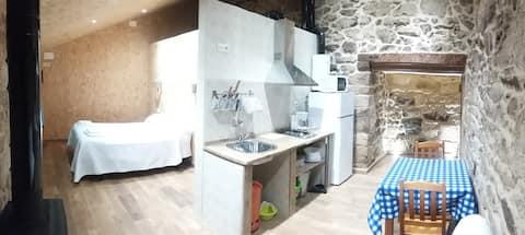 Apartamento Loft 2/3 plazas Ribeira Sacra adaptado