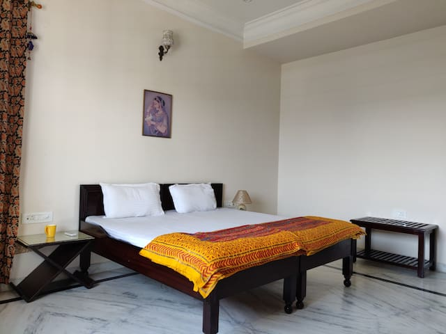 Well furnished and spacious bedrooms