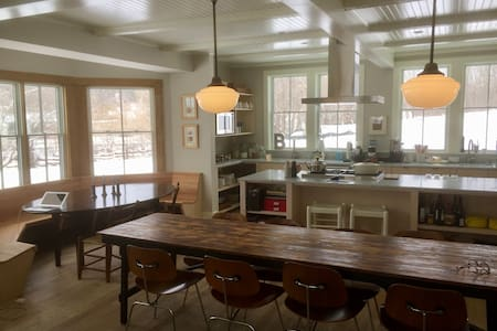 Stylish, sleek in-town remodel - Great Barrington