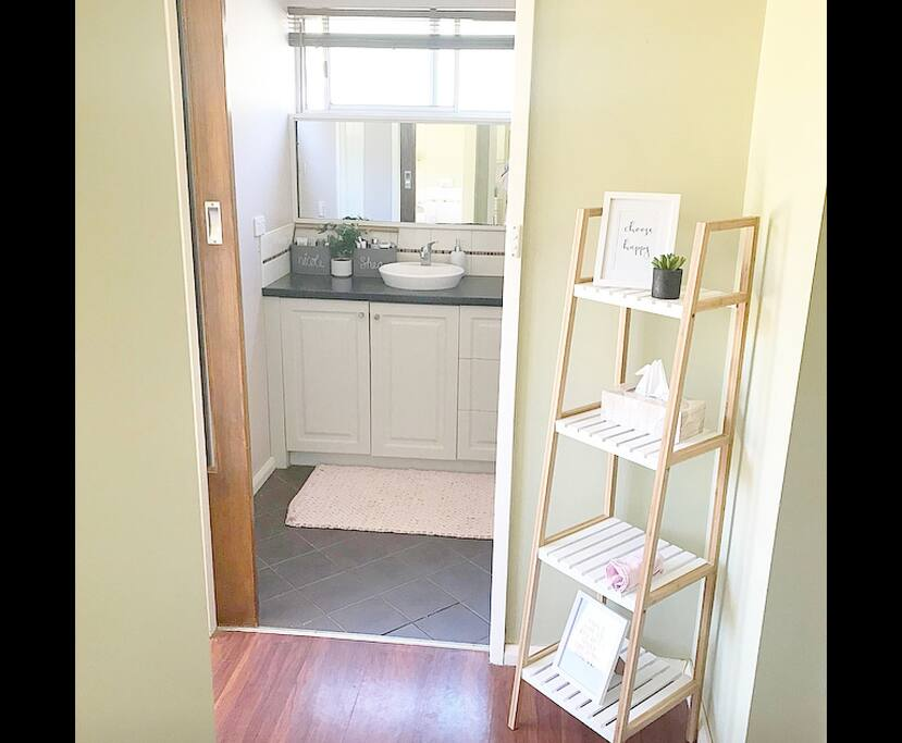 Bathroom available to guests