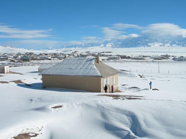Guesthouse Muras is located in Sary-Tash, Alay