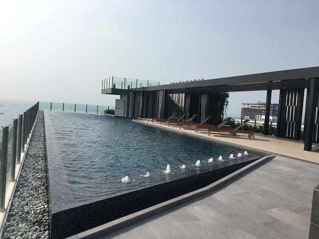 Sea View central pattaya 海景酒店式公寓 - Muang Pattaya - Flat