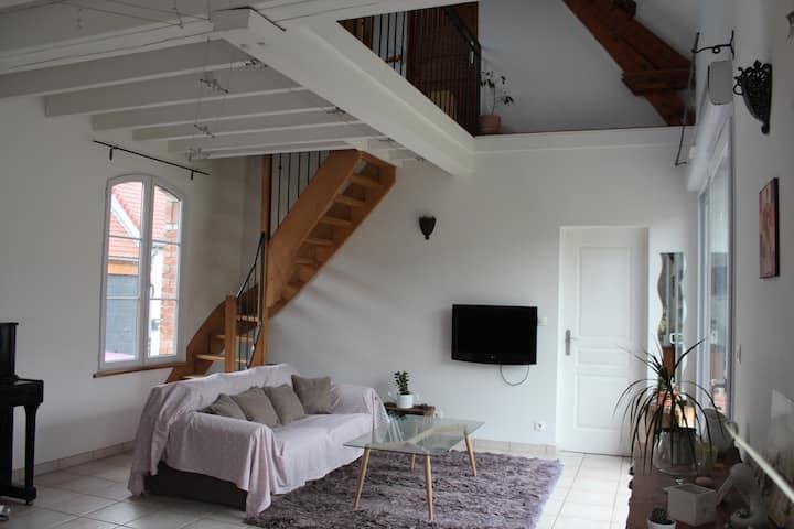 Jolie maison avec jardin - 2 chambres