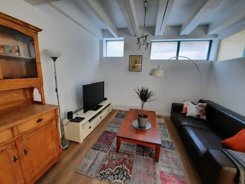 Sfeervol appartement met eigen keuken