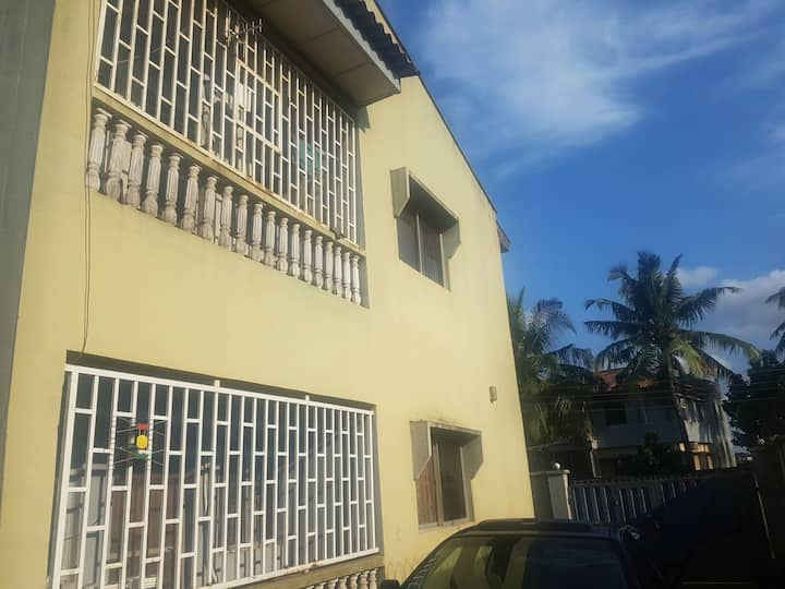 2-bedroom +1 office nice apartment in Iju, Lagos