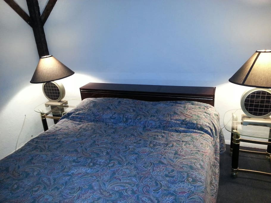 Queen Bed- Bedroom