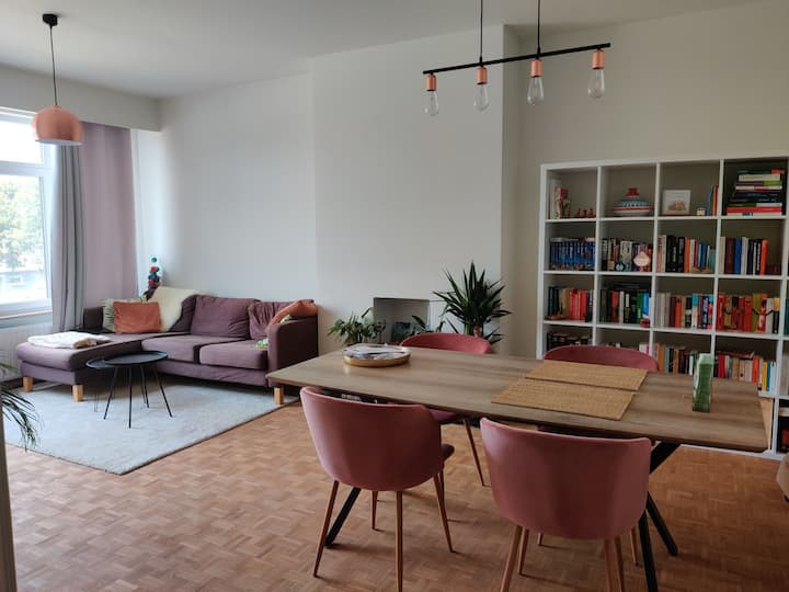 Gezellig appartement in Antwerpen.