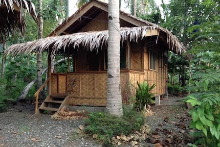kaputian near to all: white sand, market, pier - Island Garden City of Samal - Bungalou