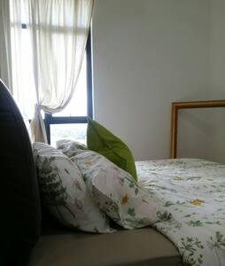 Private room for 2pax in KL - Kuala Lumpur - Osakehuoneisto