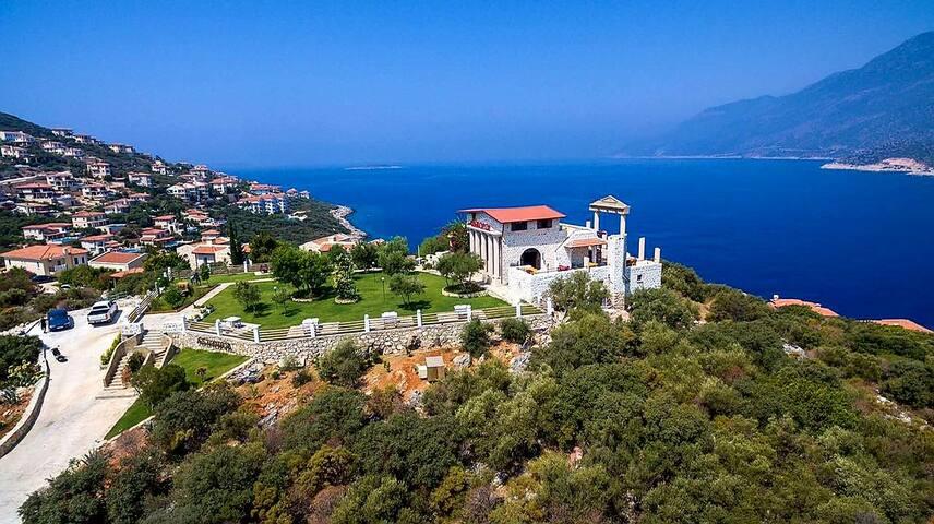 Akropol hotel restaurant kaş