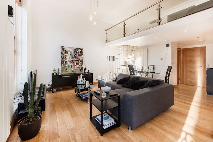 Luxury loft 2bed near Hyde park - London - Condominium