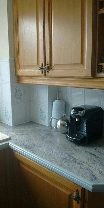 Kitchen, Tassimo coffee machine