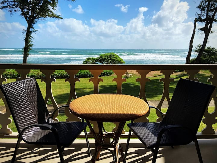 Kauai Direct Oceanfront Condo #249