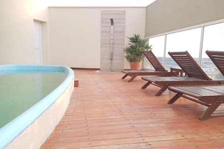 Aparment with Pool and Gym