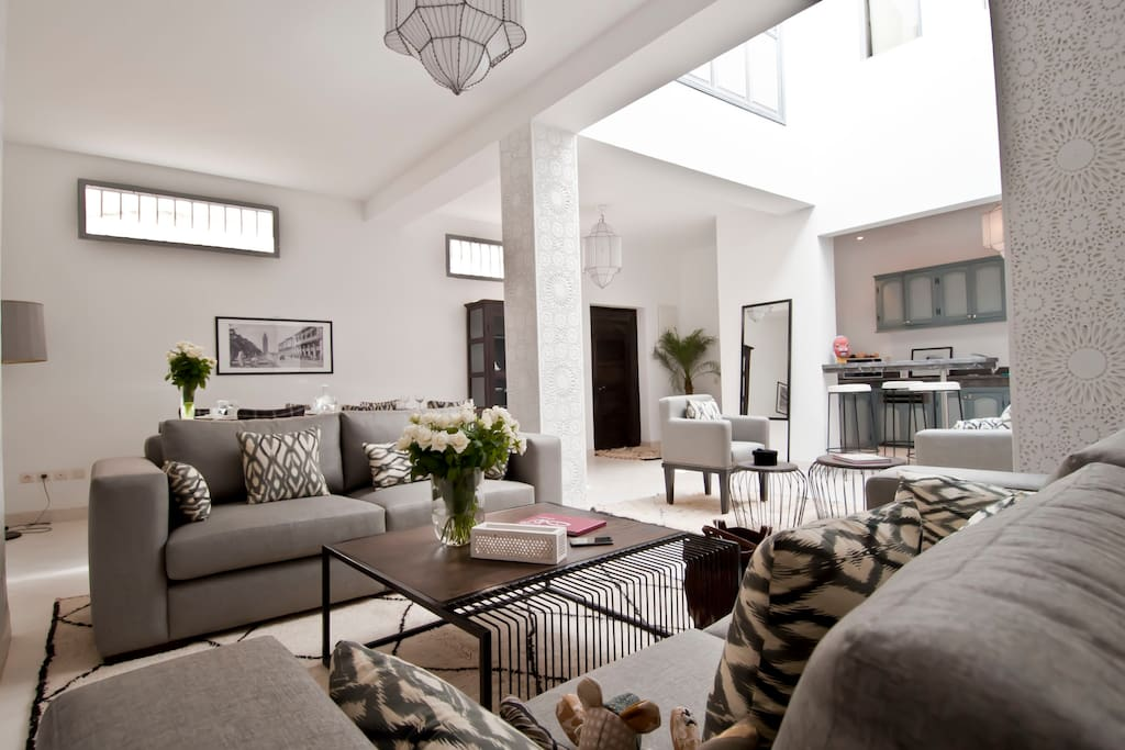 Common / shared living space.