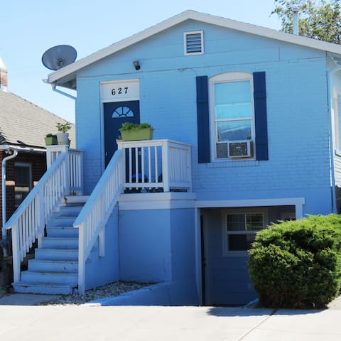 The Cutest Little Blue Cottage in Sparks