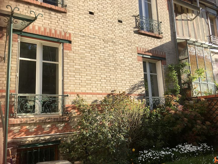 Garden flat in Boulogne, at the doors of Paris