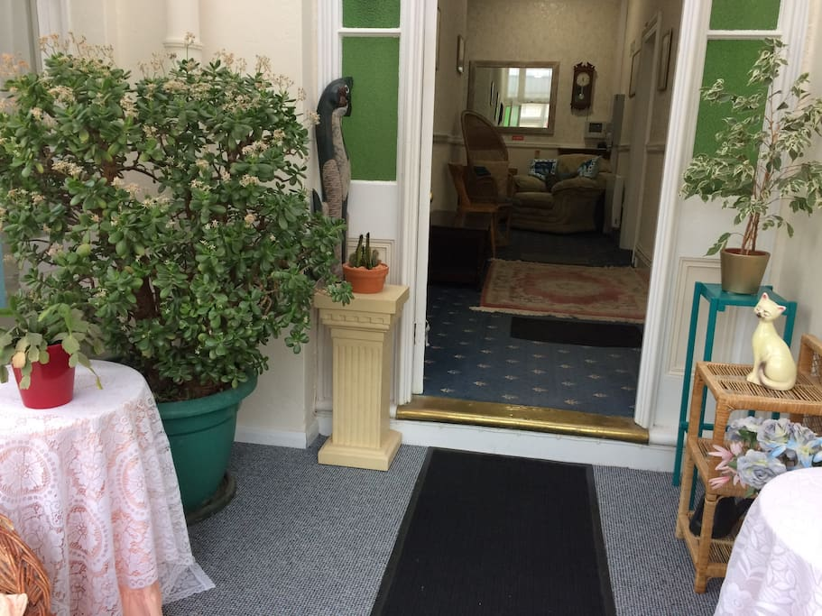 Entrance Verandah to Hallway