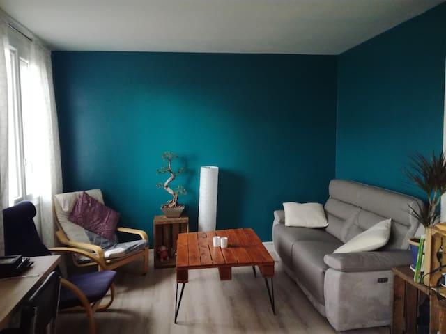 Chambre privée dans bel appartment - Clermont-Ferrand - Apartamento