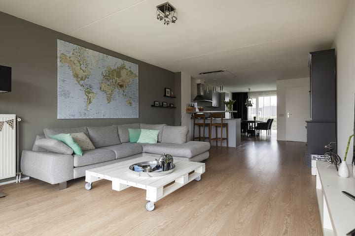 Luxurios apartment with big garden and kitchen - Middelburg - Apartamento