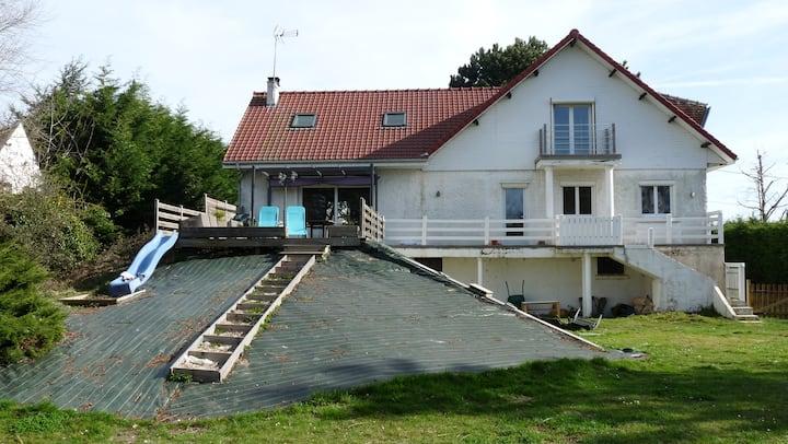 Villa de charme au port baie d'authie proche Berck