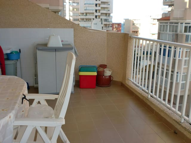 apartamento 2ª linea de playa - Tavernes de la Valldigna