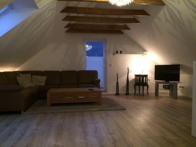 Ferienwohnung-Bramsche-Gartenstadt - Bramsche - Appartamento