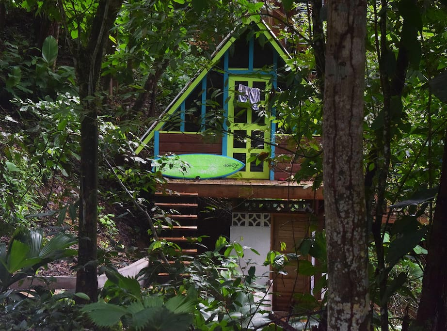 Private cabin in the trees