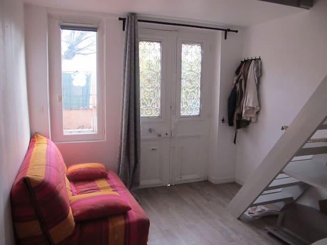 Studio équipé, calme à 15 mn des Champs Elysées - Sartrouville - Appartement