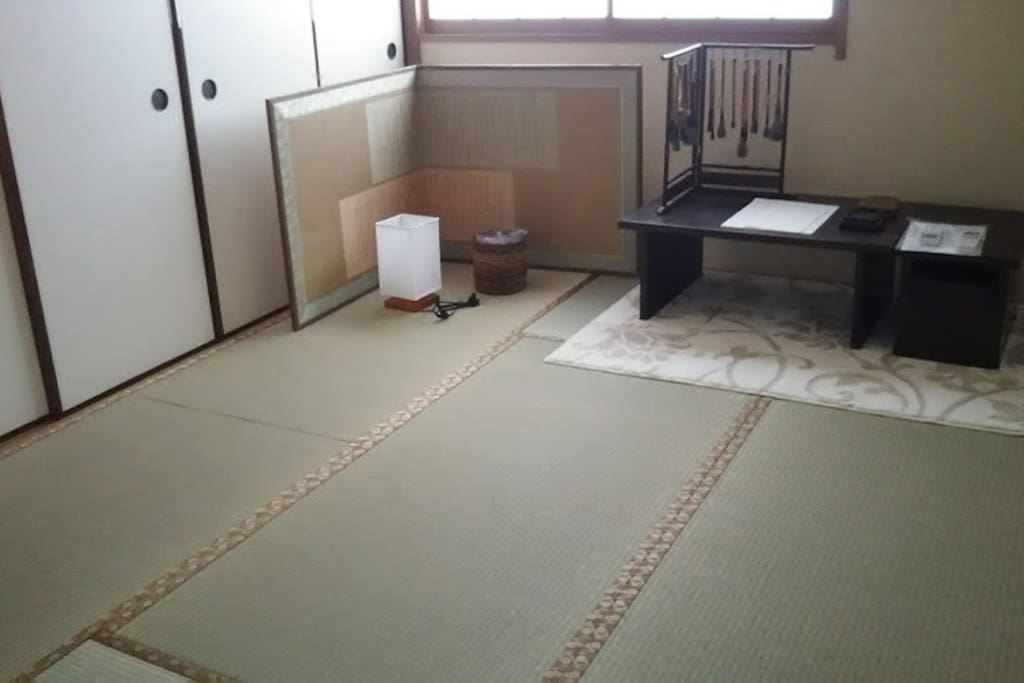 TATAMI ROOM for two FUTON-bed