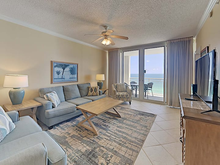 Updated Condo with the Best Views of the Gulf! Relaxing Community Amenities