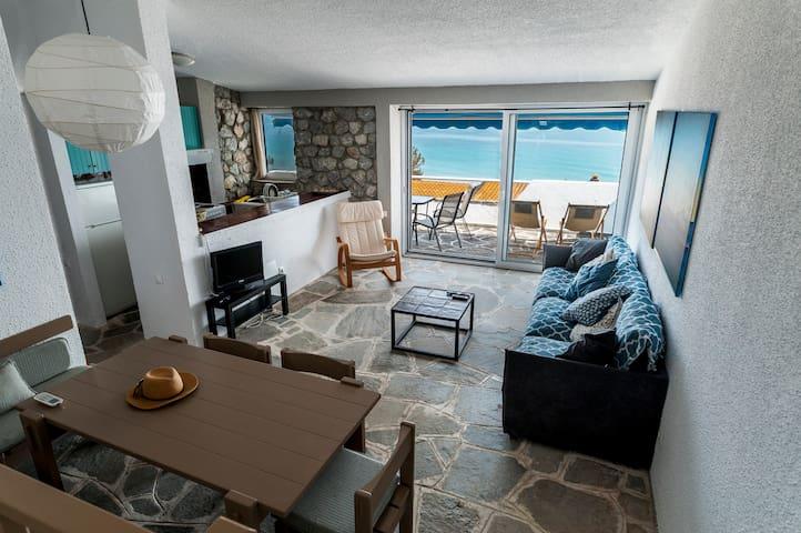 Amazing sea view apartment with terrace - Kallithea - Apartamento