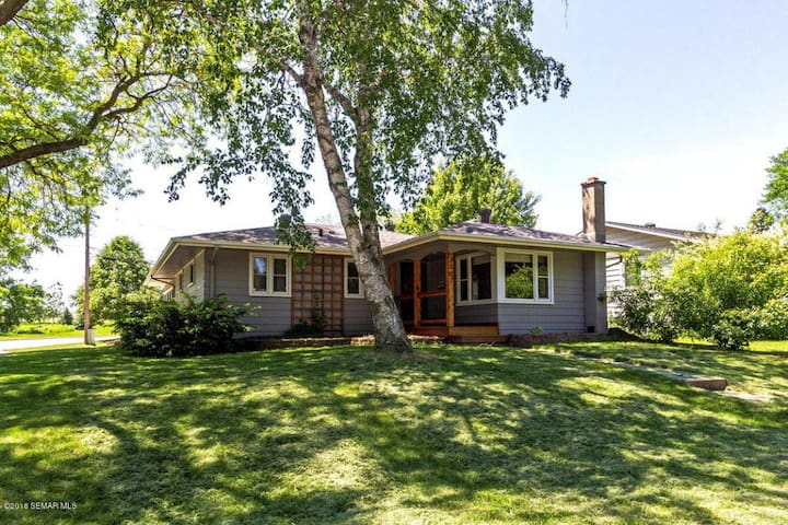 Private and spacious ranch home close to shopping