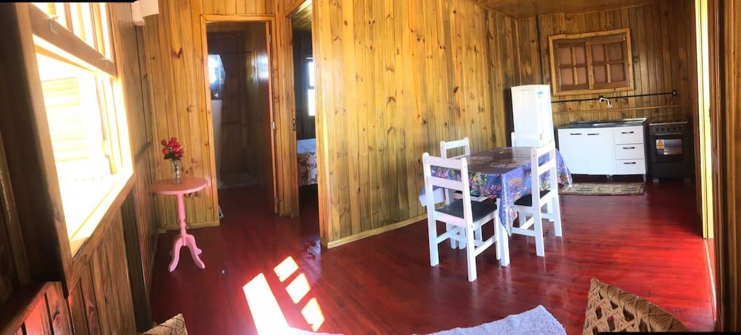 Chalé Sol da Manhã  4 pessoas +add barraca 🏕