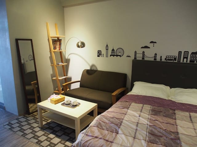 Studio in center of Tainan - East District - Maison