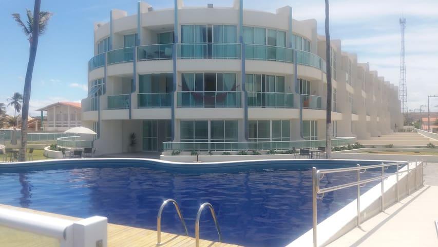Apartamento à Beira-mar - Barra de São Miguel - Apartment