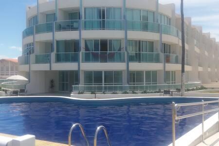 Apartamento à Beira-mar - Barra de São Miguel - Wohnung