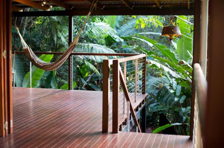 Treetops Retreat Cairns (rainforest resort home)