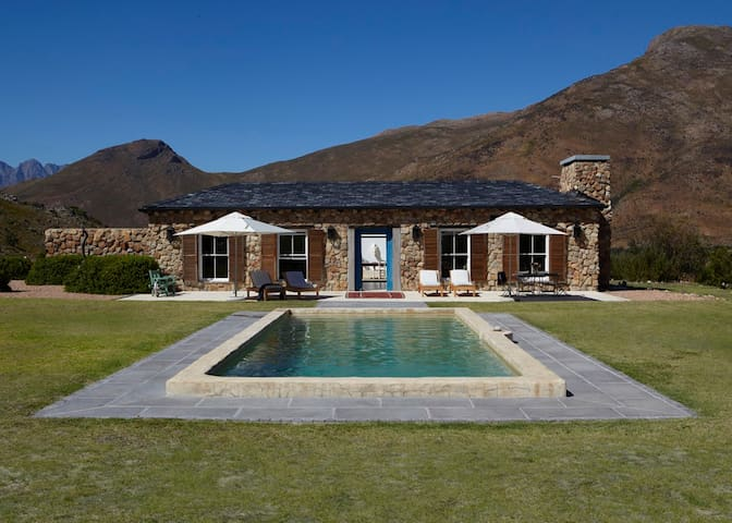 India House, Bastiaanskloof Estate - Wellington - House