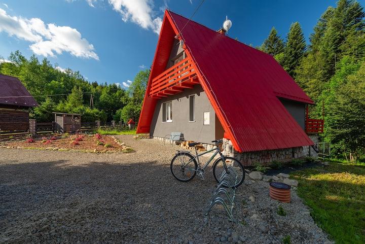 Zawoja 1725 - Slow Life Cabins. Cabin number 1.