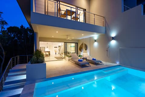 Villa Casa Bella: Vue sur mer, Piscine privée, Bangrak