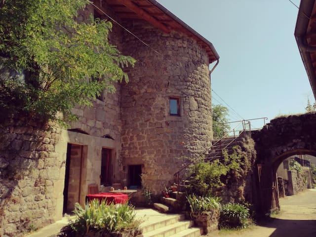 Gîte de la Tour - Saint-Barthélémy-Grozon - 公寓