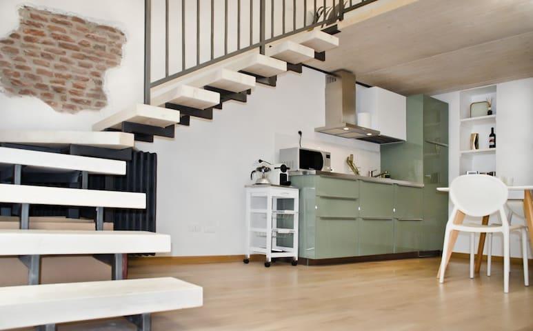 New and cozy loft on Navigli - Milan - Loft