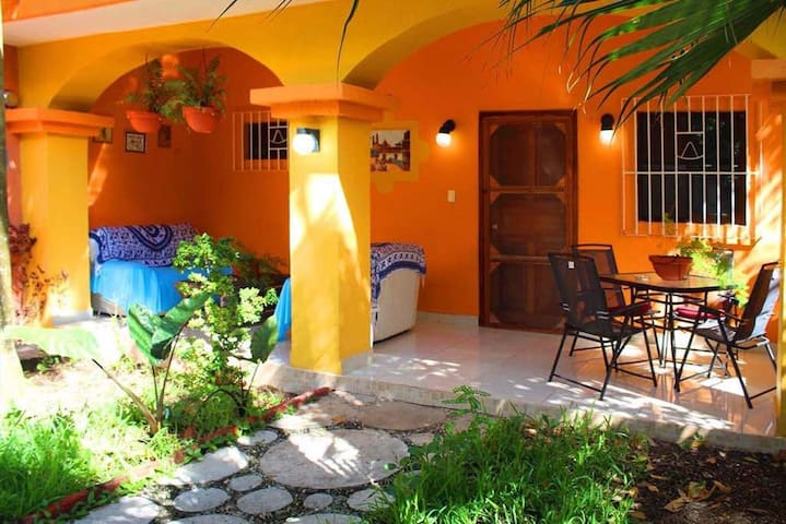 Downtown Beauty with Mexican Vibe fully featured! - San Miguel de Cozumel - Casa