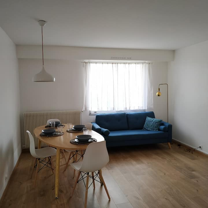 Grand appartement à 30 minutes de Paris
