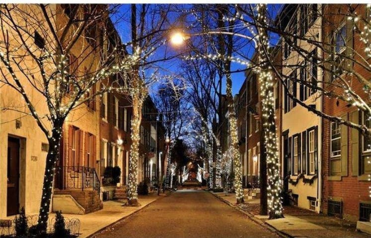 Heart of Rittenhouse- Pine Place! - Philadelphia - Wohnung