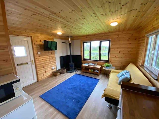 Idyllic Cornish Retreat At Puffin Lodge