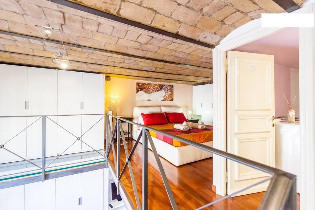 capo 2 loft romantico al colosseo loft in affitto a