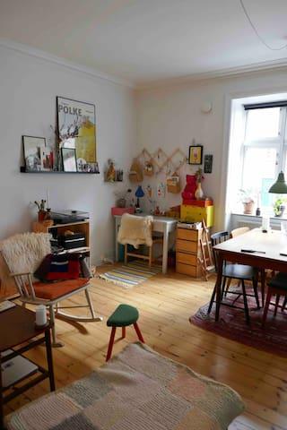 Cosy, retro apartment near city centre