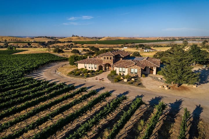 Beautiful Tuscan Vineyard Estate